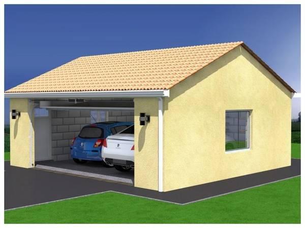 prix construction garage 70m2