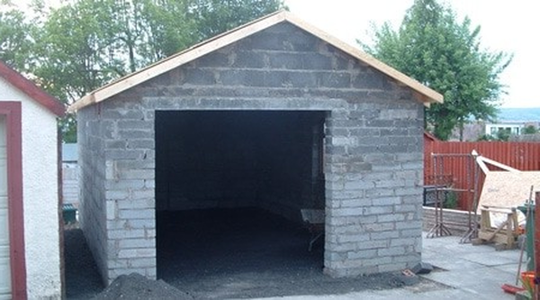 prix construction garage parpaing