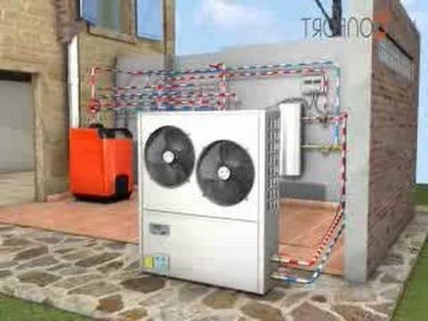 pompe a chaleur aire eau