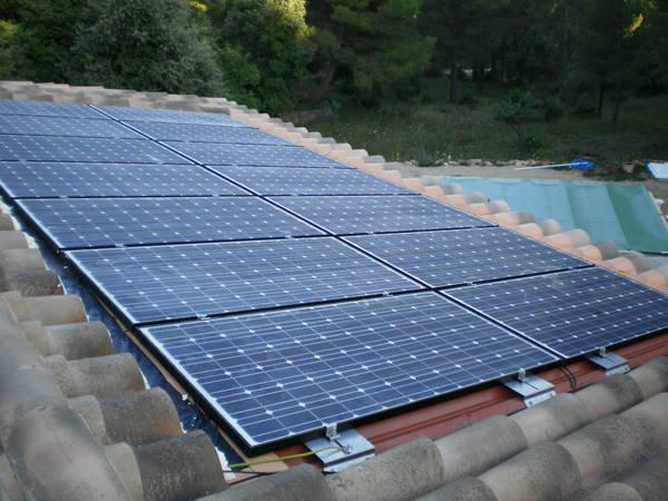 panneau solaire batiment