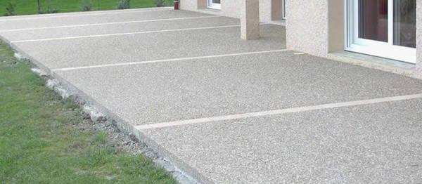 prix terrasse beton 50m2