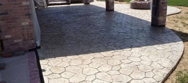 prix terrasse beton 20m2