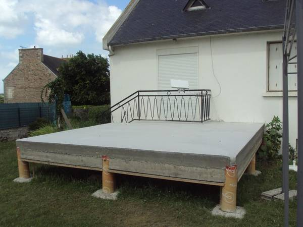 plot beton terrasse