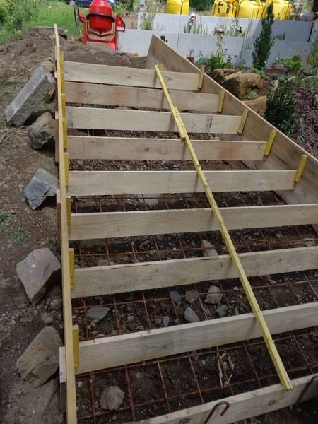 réaliser une terrasse en béton