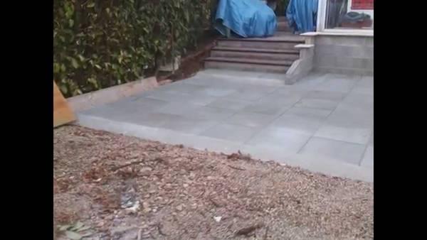 terrasse beton ciré