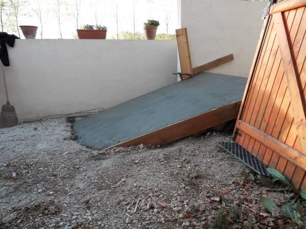 devis terrasse beton