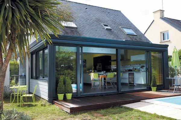 veranda en kit preformatee